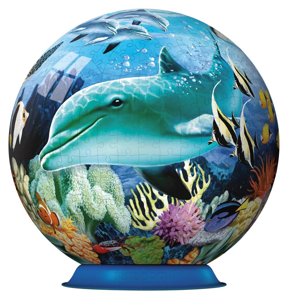 3D Puzzles For Adults Underwater World Adult 3D 3D