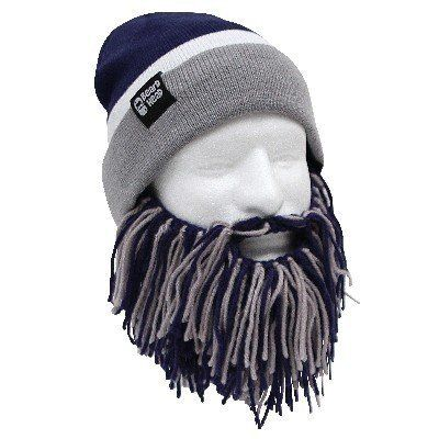 Beard Head Tailgate Seattle Knit Beanie w  Beard Hat (Green   Blue)  29.95 2561bafd4ce