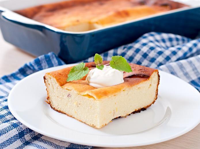 Quarkkuchen (ohne Boden) wie von Oma | Rezept