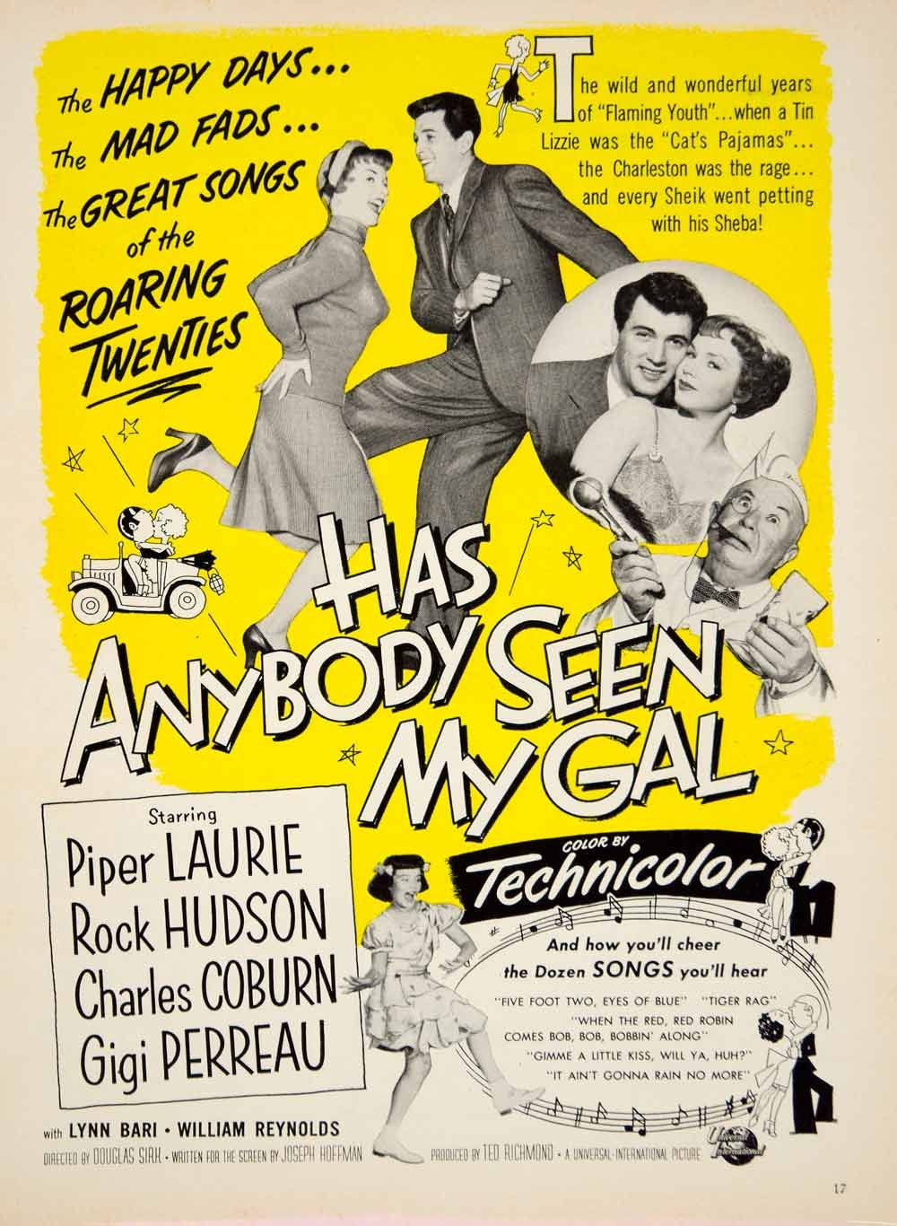 Image result for has anybody seen my gal 1952