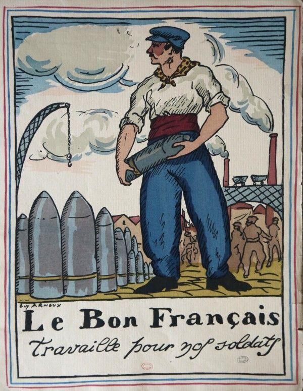Le Bon Français travaille pour nos soldats - Guy Arnoux   Guerre