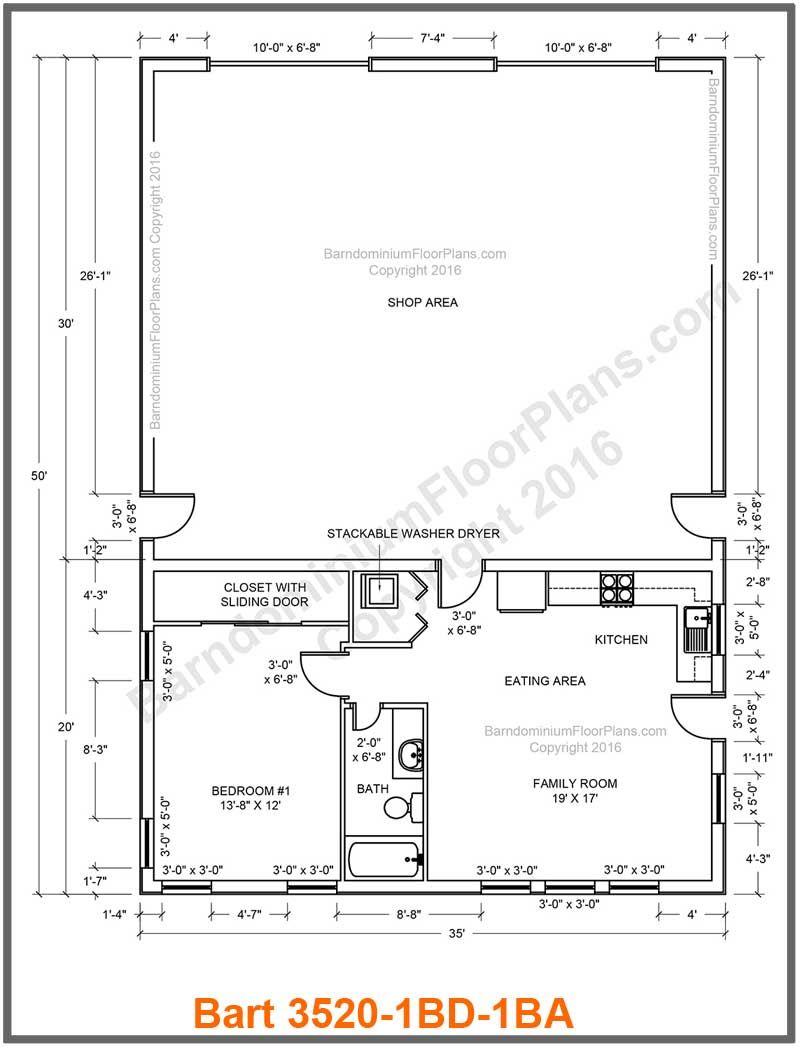 Morton Barndominium Floor Plans 30barndominiumfloorplansfordifferentpurpose Pole Barn House Plans Barndominium Floor Plans Studio Floor Plans