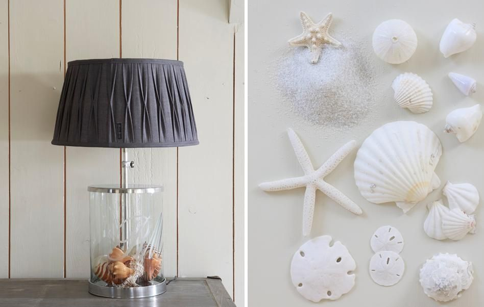 Riviera Maison seashells lamp