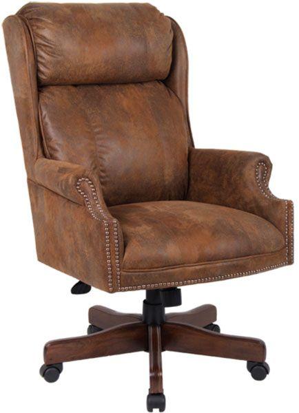 Centennial Oak Executive Chair Microfiber 980dk 199