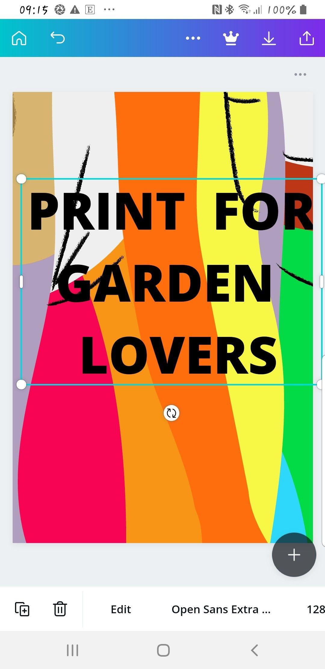 Allotment PrintGarden printHouse PrintFlower design | Etsy