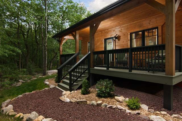 Home Timberhaven Log Timber Homes In 2020 Log Homes Exterior House With Porch Log Cabin Exterior