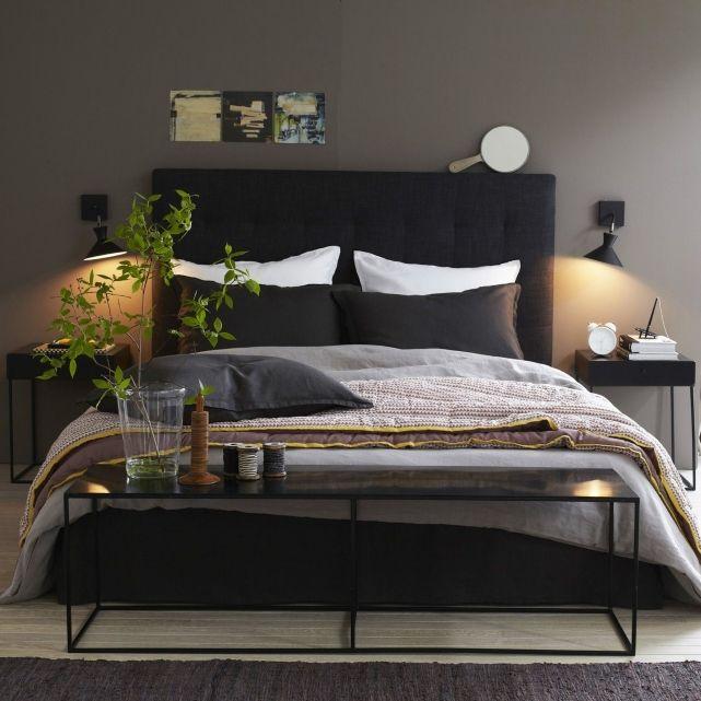 slaapkamer donker modern slaapkamer pinterest