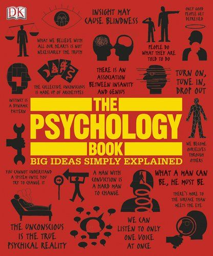 The Psychology Book Big Ideas Simply Explained is part of Psychology books, Dk publishing, Psychology, Books, Books to read, Ebooks - This large, stylish book takes the reader on a quick tour through the history and discipline of psychology, with tiny bits of information and loads of design