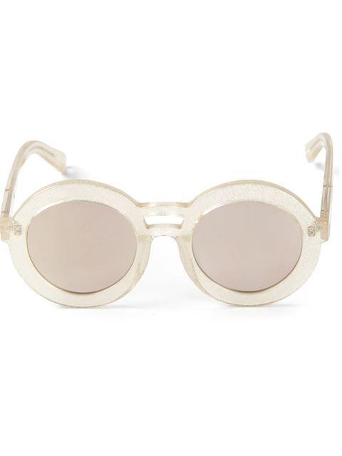 f64fe51d1a Karen Walker Eyewear 'joyous Gold Glitter' Sunglasses -   Eyes Have ...