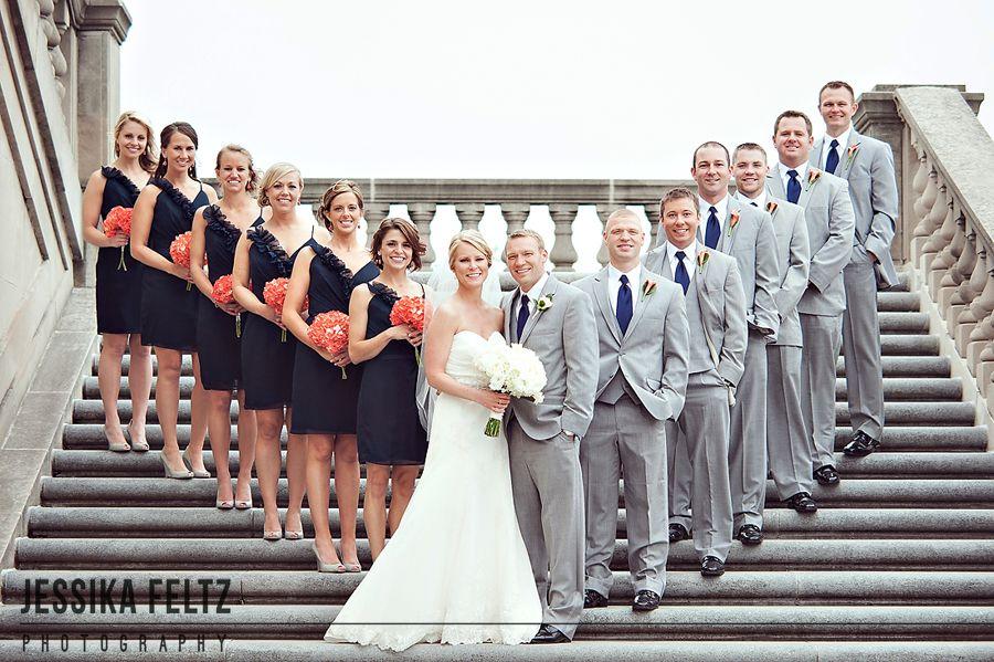 Group Wedding Poses Photos