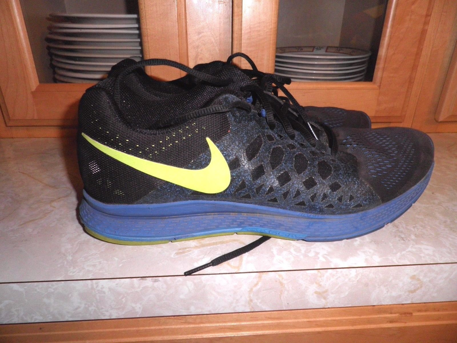 official photos a37ad 13ccd Men's Nike Air Zoom Pegasus 31 Blue Black 652925 002 Size 12 ...