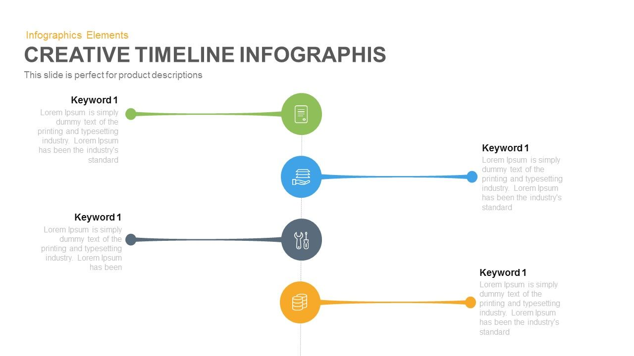 creative timeline infographic powerpoint | powerpoint templates