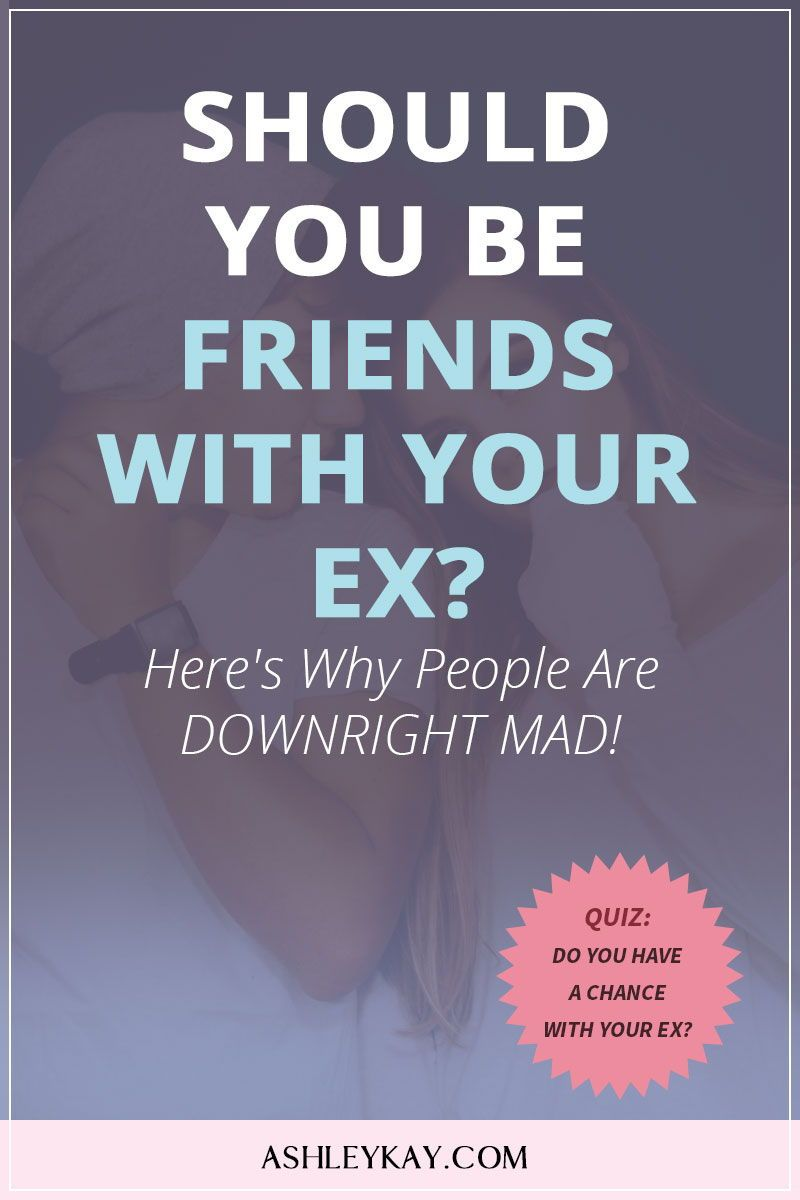 Does being friends with an ex help get them back