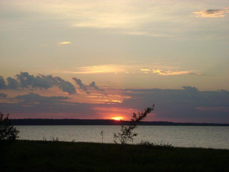 Nada melhor do que ver o pôr do Sol !
