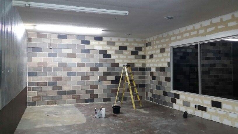 Faux Painting On Concrete Blocks Concrete Block Walls Cinder Block Walls Concrete Basement Walls