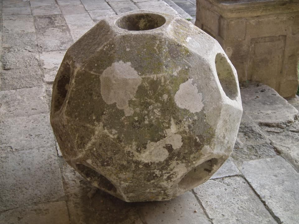 I don't know how this works, but it is an old lawn billiards ball holder from Bramshill.