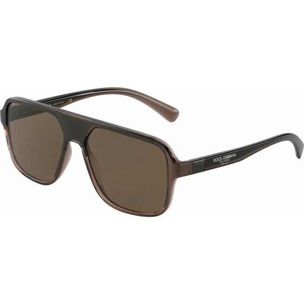 Dolce & Gabbana DG6134 325973, Plastic, Brown, Sunglasses