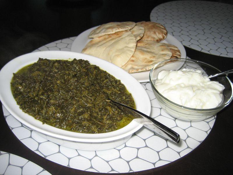 Qorma i sabzi is a very popular afghan vegetarian dish for Afghanistan cuisine