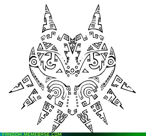 Majora's Mask Majoras mask, Tattoo project, Majoras
