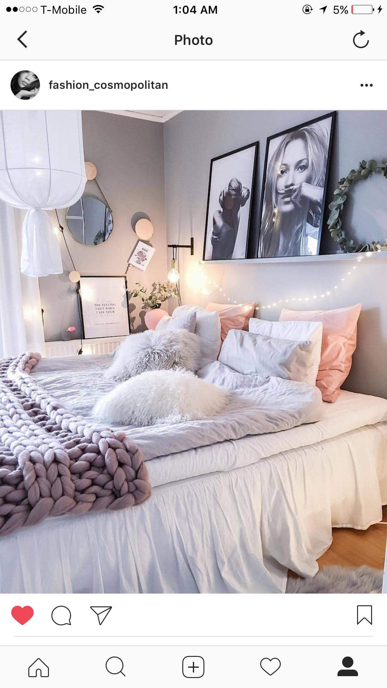 Romantisches schlafzimmer interieur pin von miririeck auf instpiration  pinterest  schlafzimmer