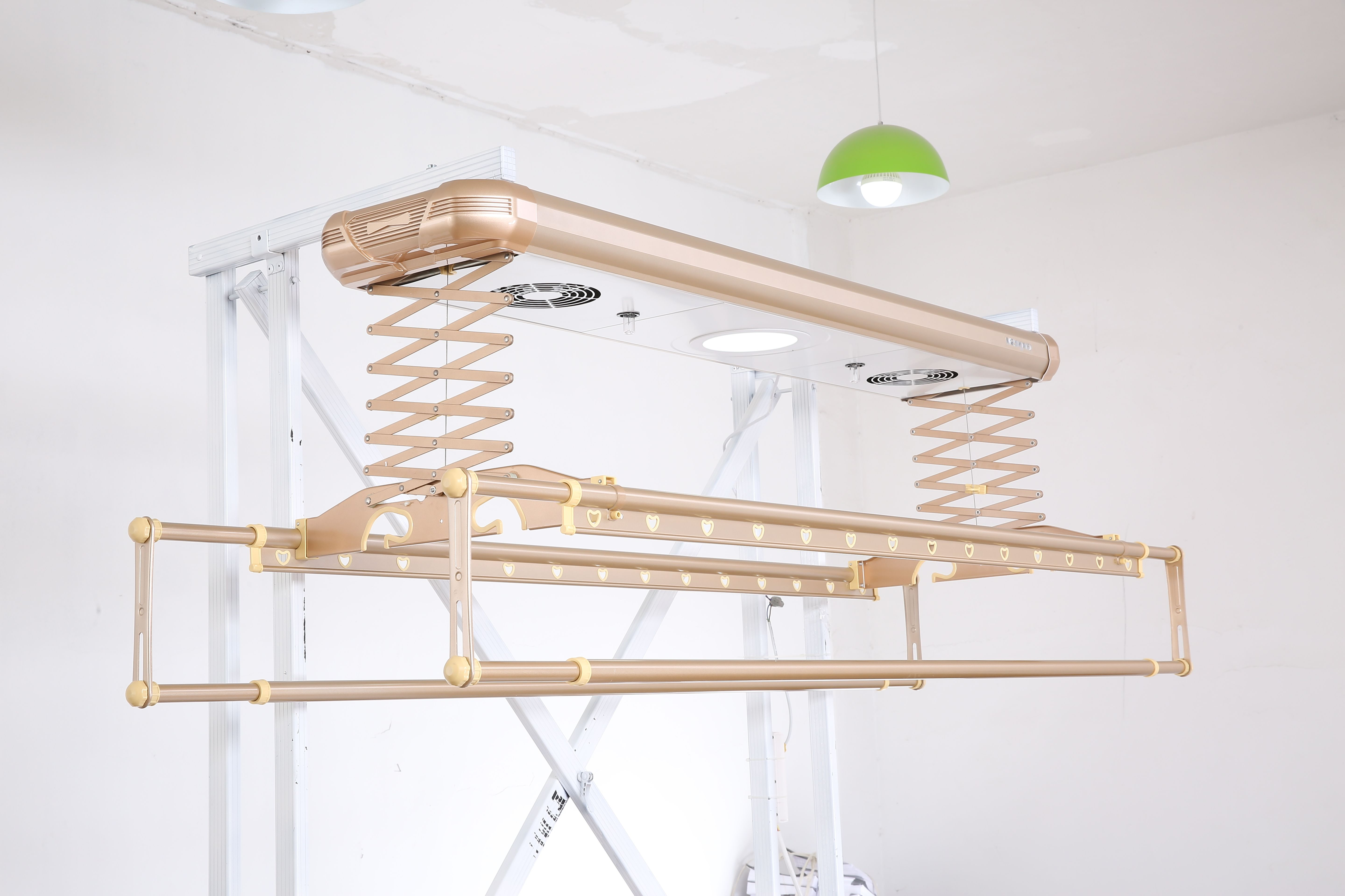 Remote Control Clothes Rack