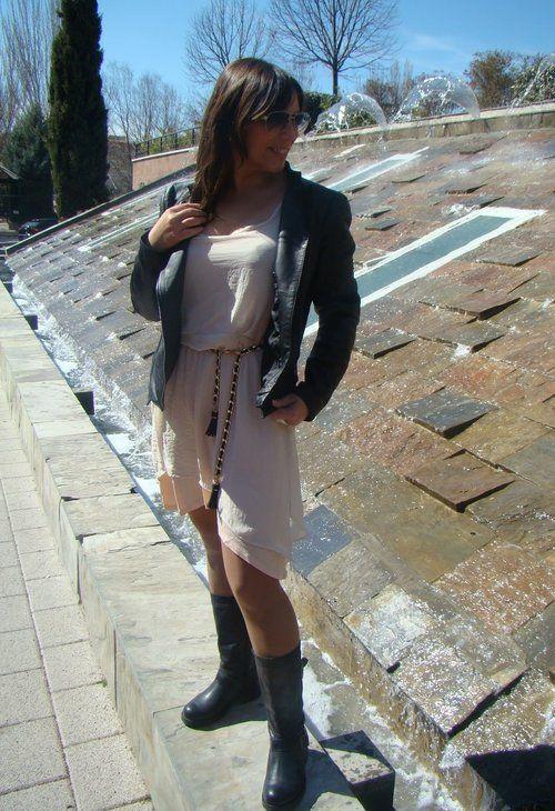 Rompiendo reglas!!!  , Zara en Chaquetas, Zara en Vestidos, Zara en Cinturones, Wonders en Botas