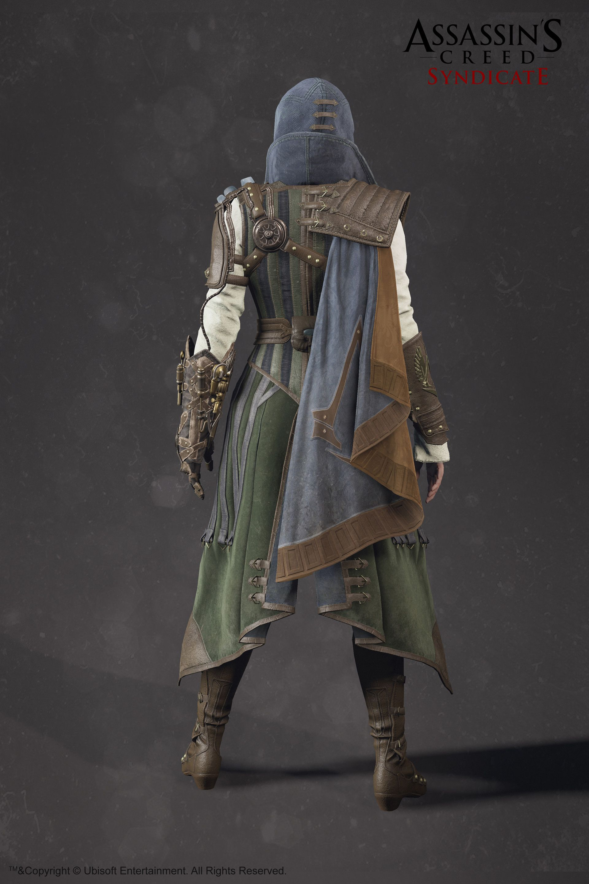 Evie Frye Steampunk Outfit Assassin S Creed Syndicate Sabin Lalancette Assassins Creed Costume Assassins Creed Outfit Assassins Creed Cosplay