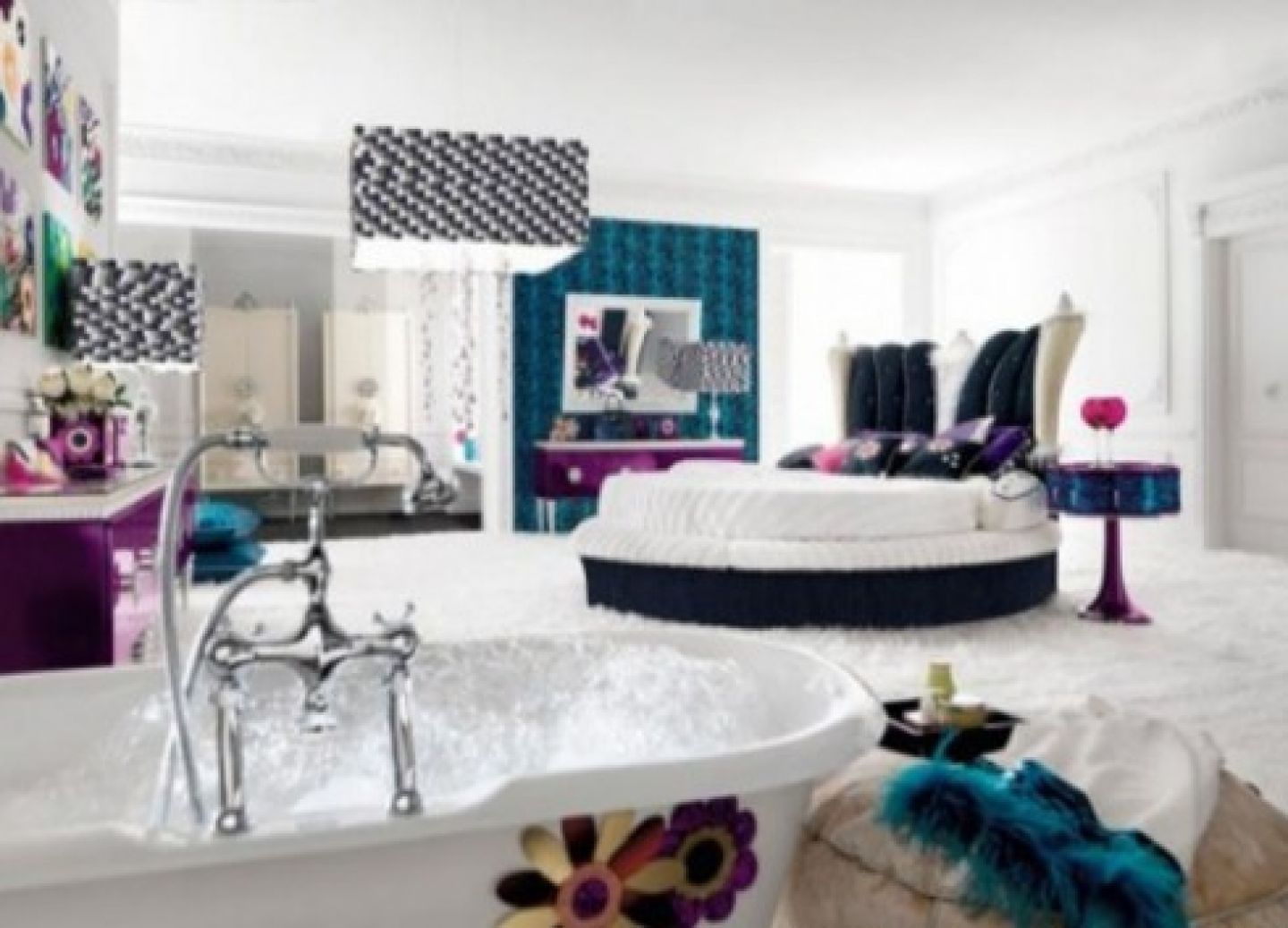 teenage girl bedroom decoration teen wallpaper tumblr : beautiful