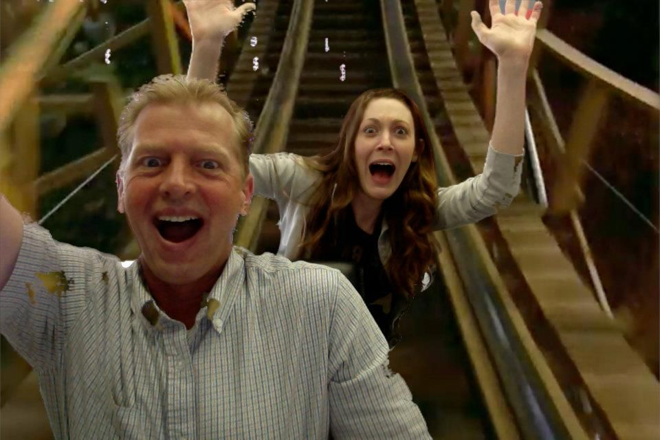 We bet you didn't know we have a roller coaster in our office?
