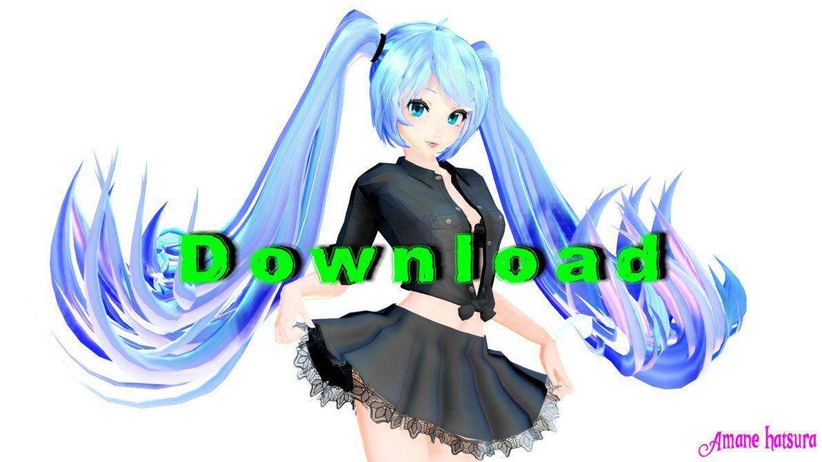 MMD TDA:Casual Miku Download!!! by AmaneHatsura | mmd | Hatsune miku