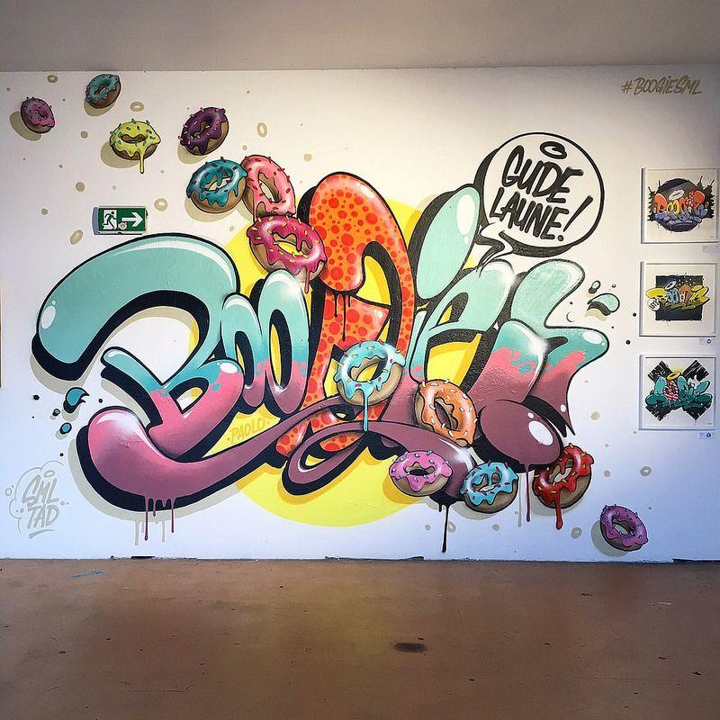 2019 Graffiti: Graffiti And Air Brush En 2019