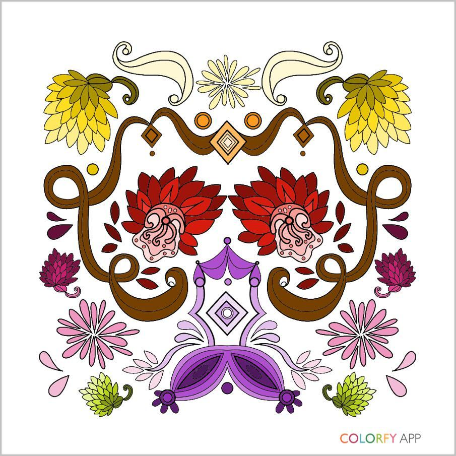 Coloring Books Itunesapple Us App Colorfy