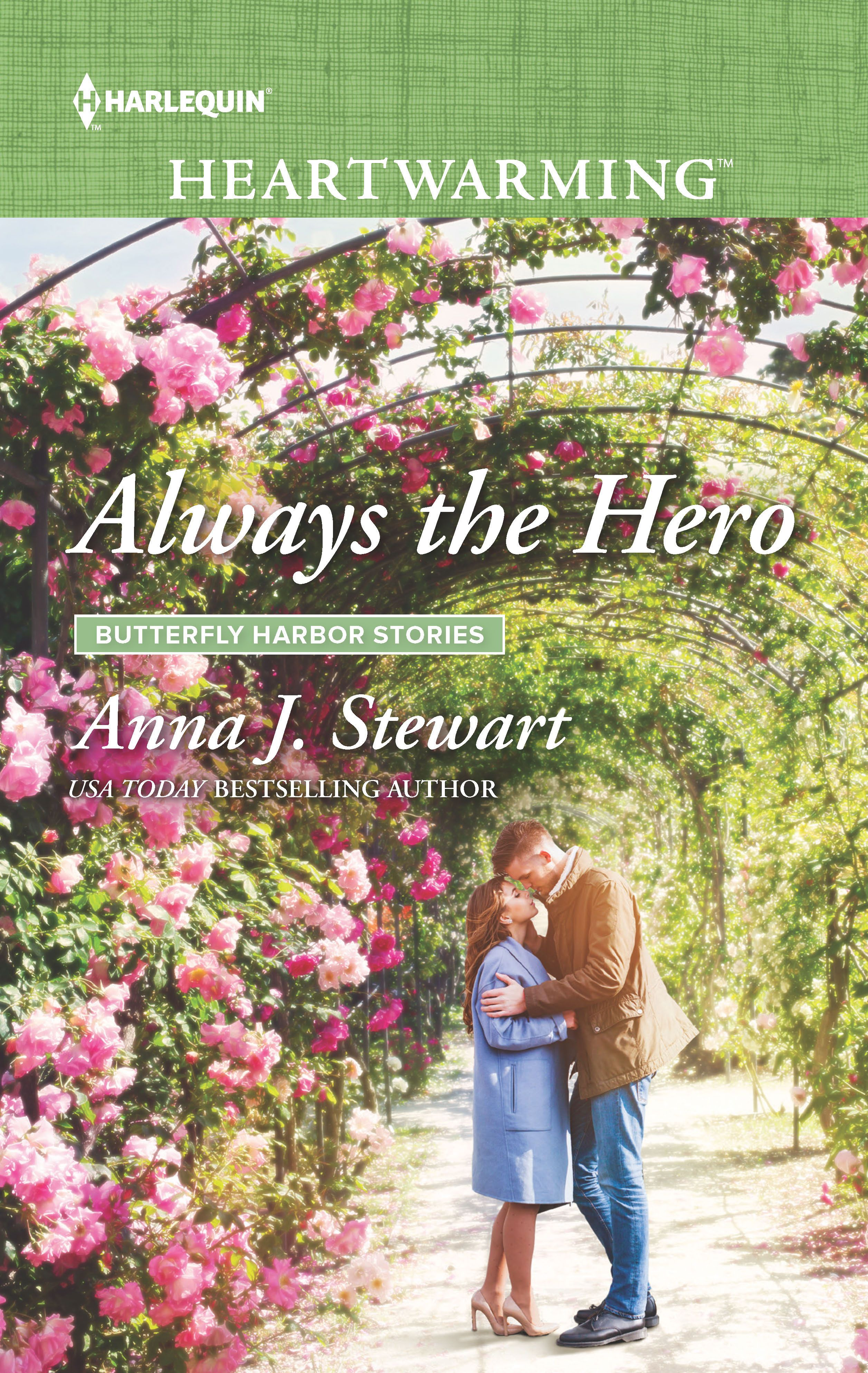 Book 4 in the sweet Butterfly Harbor romance series