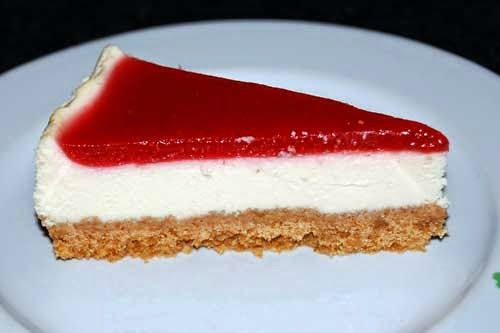 Cheesecake philadelphia e lamponi (Kenwood Cooking Chef) - Ricette ...