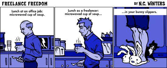 Znalezione obrazy dla zapytania freelance fun pic