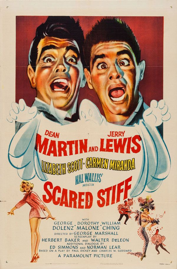 Jumping Jacks Movie POSTER 14 x 36 Dean Martin Jerry Lewis A USA NEW