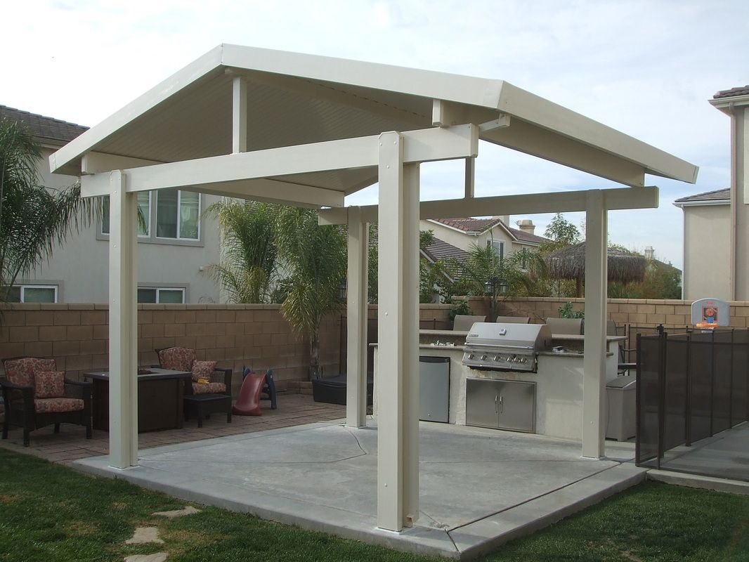 Free standing patio covers corona patio covers 951 735 for Freestanding patio cover