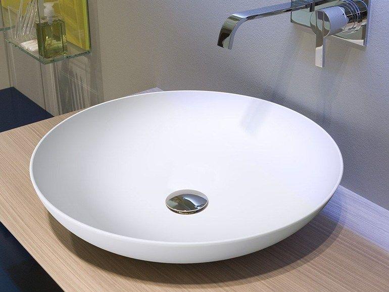 Antico bagno ~ Verso by antonio lupi design® lavabo da appoggio rotondo in