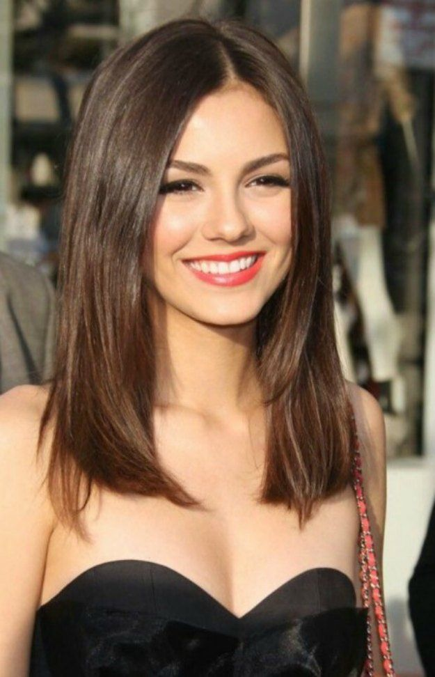 Mid Length Straight Hair My Favorite Medium Hairstyles Of 2016