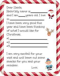 How to write a christmas wish list