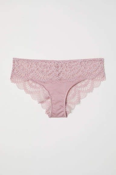 4362085e183 H M Lace Hipster Briefs - Pink
