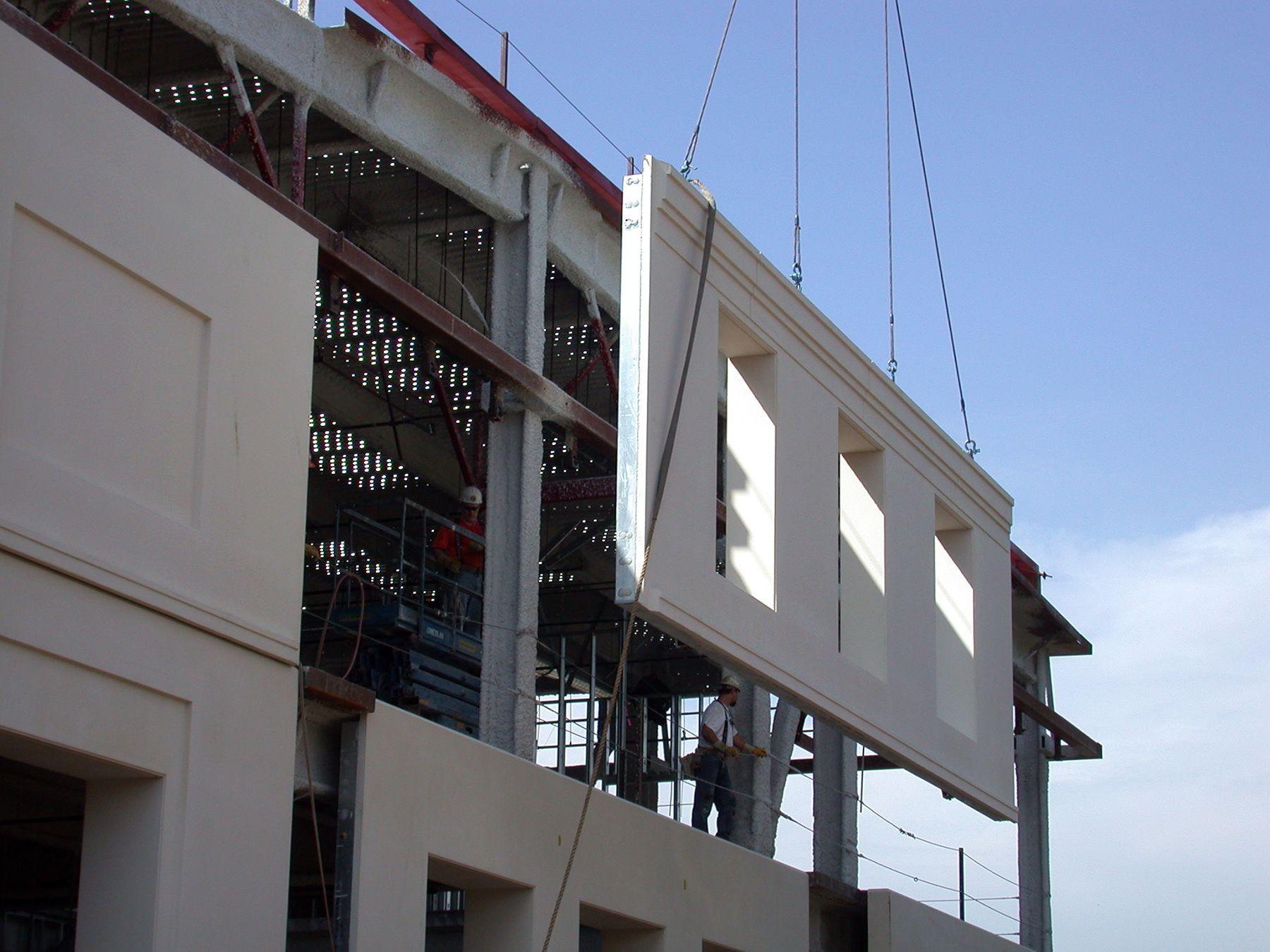 Eps Foam Used As Insulation In Precast Concrete Wall Panels Polymolding Llc In 2020 Precast Concrete Concrete Wall Panels Prefab Walls