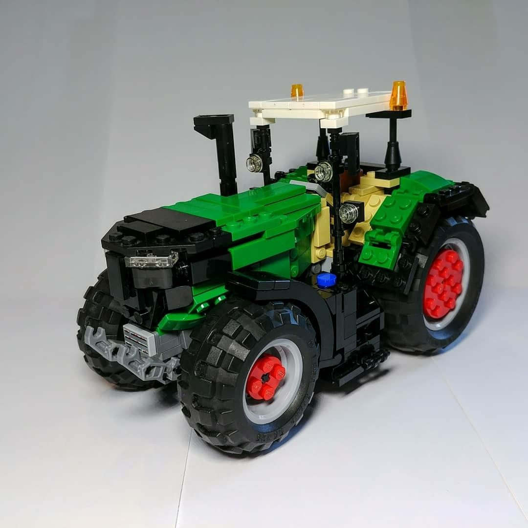 here is my new lego moc it is a lego fendt 1050 vario do. Black Bedroom Furniture Sets. Home Design Ideas