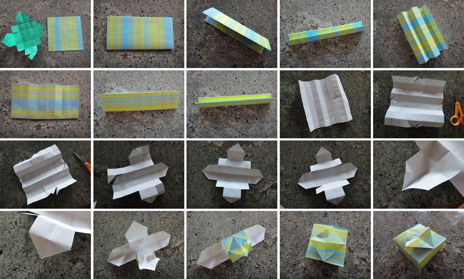 Worth Pinning: Make your own paper boxes