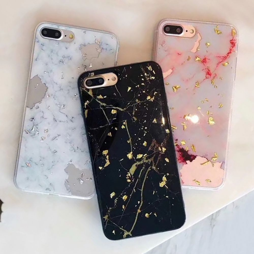 Glitter Marble iPhone Case iPhone Cases For iphone X XS