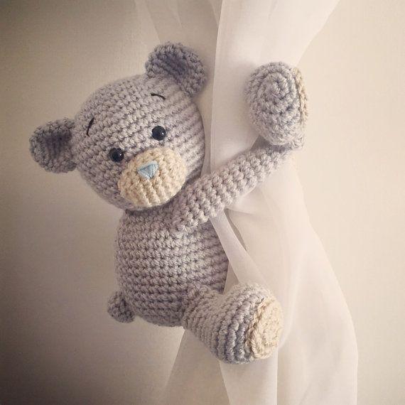 Teddybär Vorhang Krawatte Rücken Ein Paar Von Niceandcosee Auf Etsy
