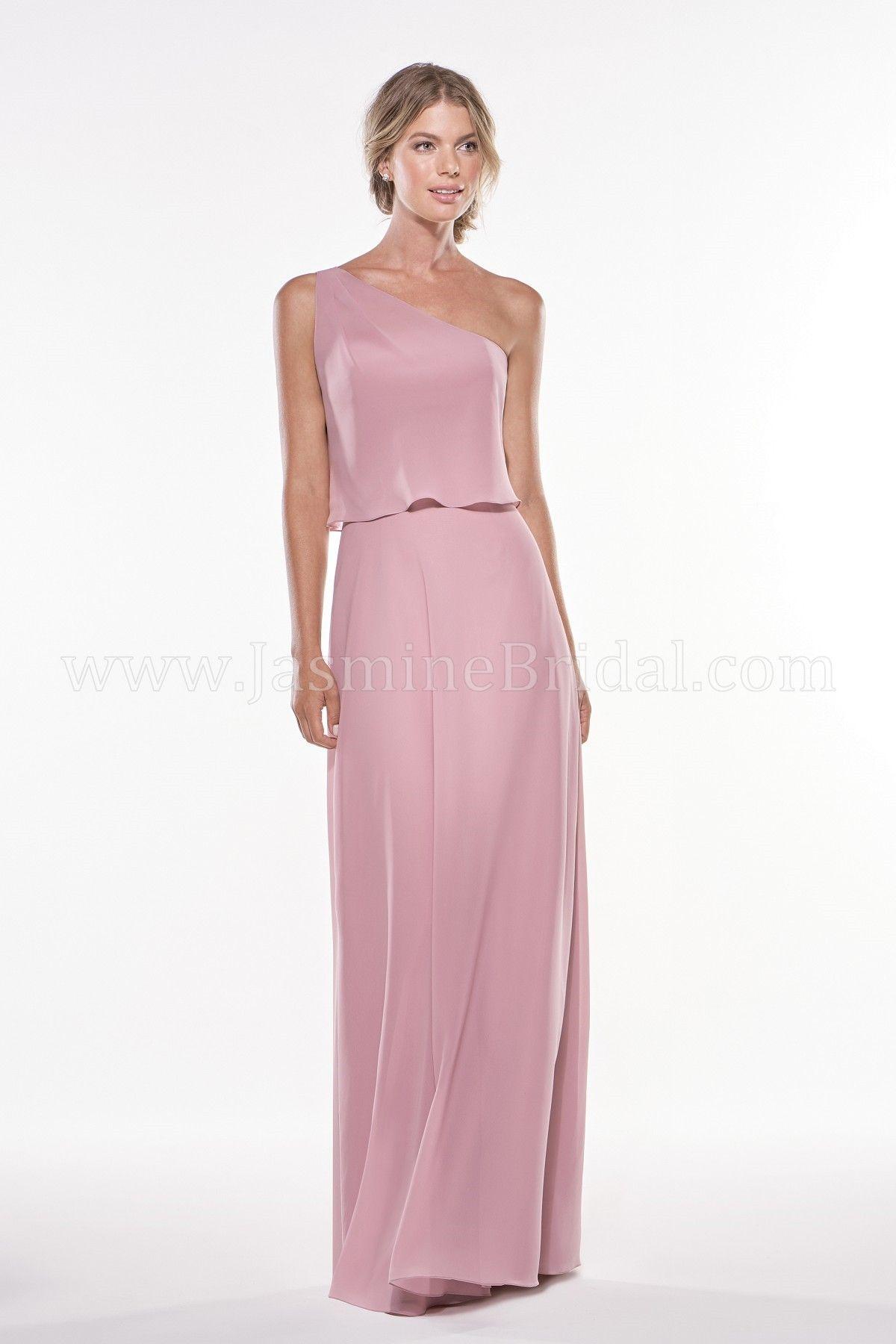 Jasmine Bridal | Jasmine Bridesmaids Style P196002 in Gardenia ...