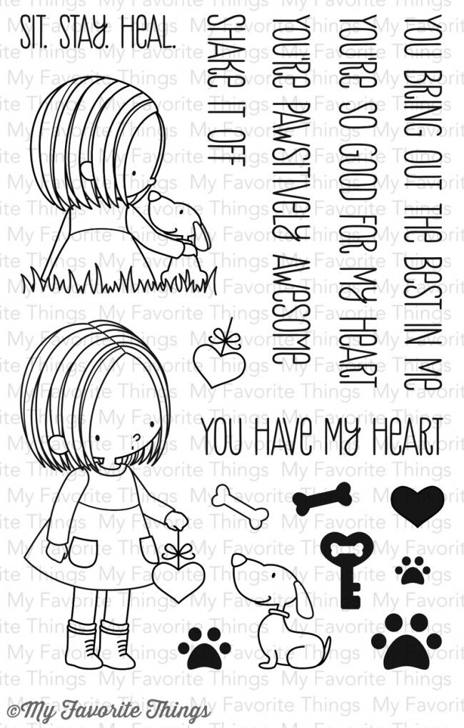 Bb You Have My Heart My Favorite Things Stamp 1599 Learning Time