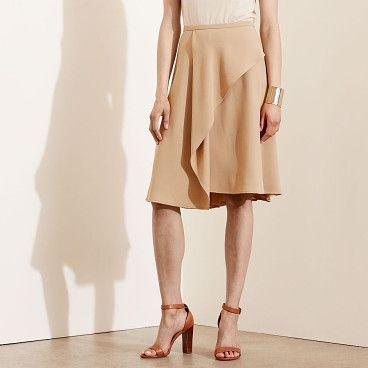 On SALE at 22% OFF! lauren crepe a-line skirt by Ralph Lauren