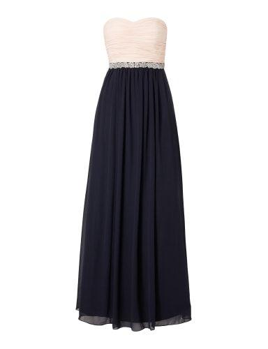 CHRISTIAN-BERG-COCKTAIL Two-Tone Abendkleid aus Chiffon in Blau ...